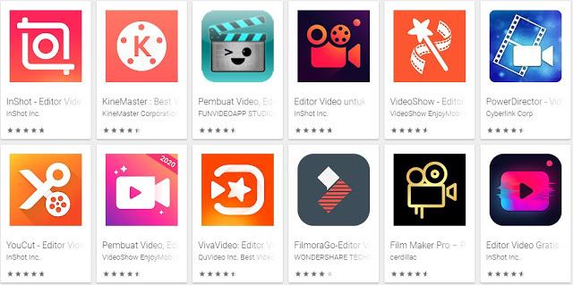 13 Aplikasi Edit Video Android Gratis Dan Offline Terbaik