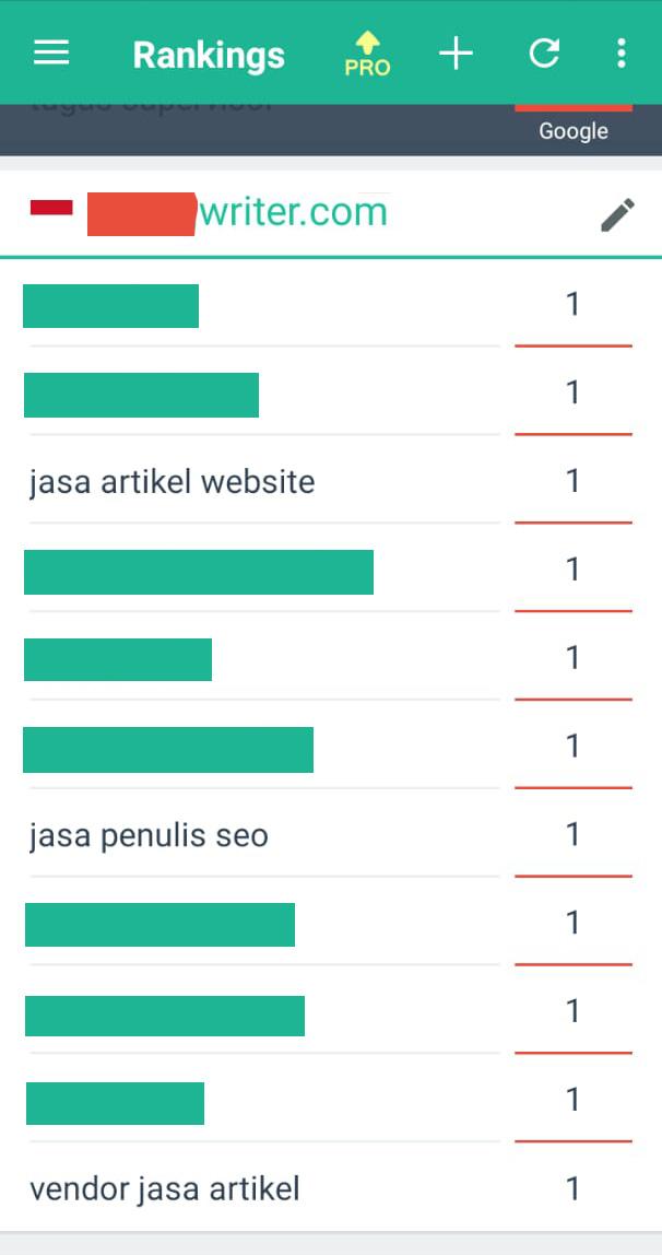 Cara Website Masuk Halaman Pertama Google